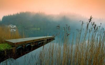 Pier in morning Fog wallpaper by JennyMari | RevelWallpapers.net