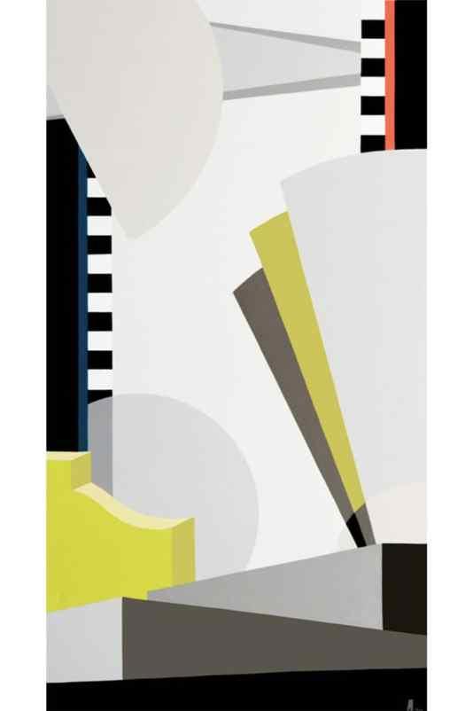 Dialogo 39 Acrílico sobre canvas - 150 x 80 cm