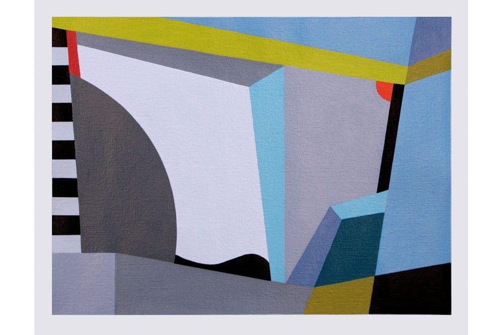 Pequeño dialogo Acrílico sobre canvas - 24 x 32 cm