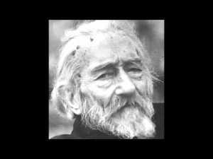 Escritor e filósofo argentino, Macedonio Fernández (1874-1952)