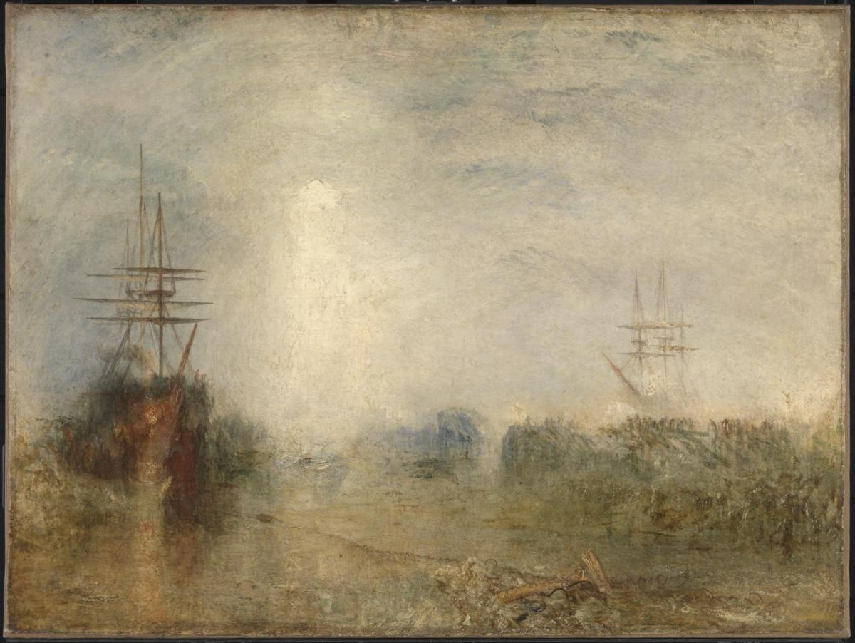 """Hurrah! for the Whaler Erebus! another fish!"", de Turner"