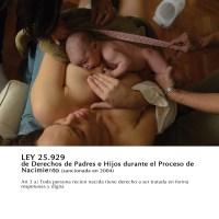 La escritura incomprensible del cuerpo en fotografías de parto respetado