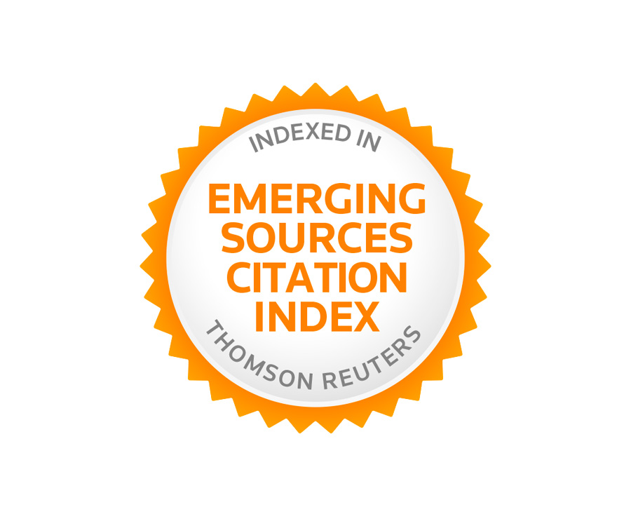 Caracteres entra en el Emerging Sources Citation Index