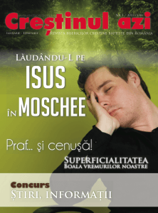 Rasfoieste online revista Crestinul Azi 1 / 2013