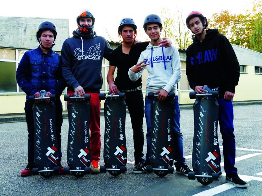 Atividade de Skate - Escola Dr. Vieira de Carvalho