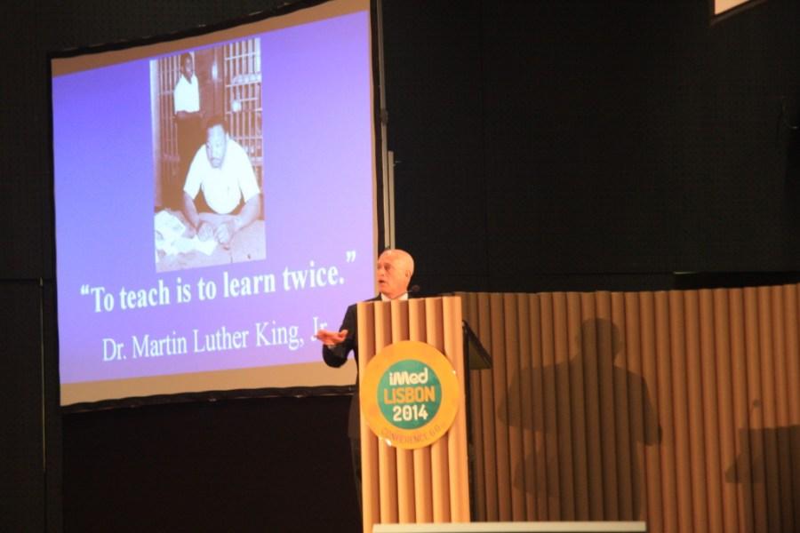 Charles Brunicardi, eleito o melhor orador da edição anterior, apresentou na Opening Lectur uma palestra já conhecida por alguns dos presentes.