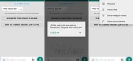 WhatsApp para Android ahora permite bloquear personas que envían spam