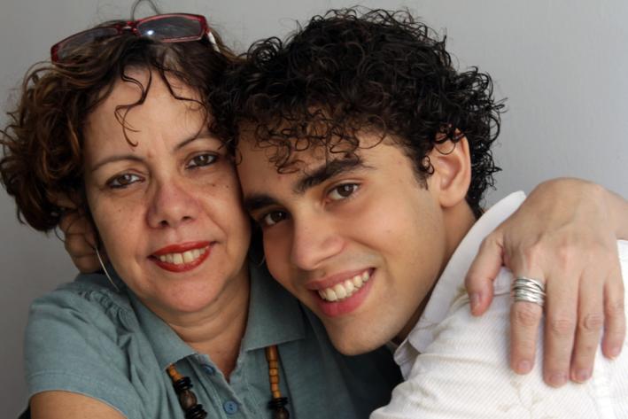 Georgina Martins + filho Camilo