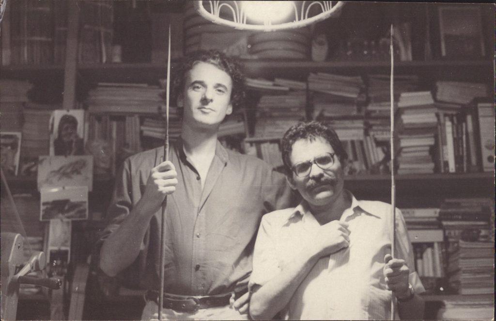Andrea Tonacci e Luiz Rosemberg Filho