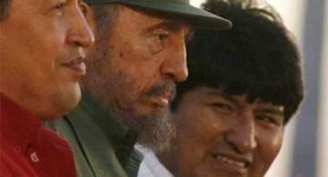 Huego_Chavez_Fidel_Castro_Evo_Morales