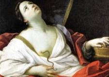 El suicidio de Cleopatra, por Guido Reni