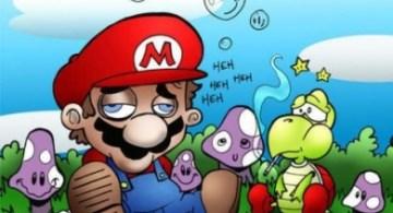 Mario Bros drogado