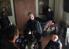 Fotografía del rodaje de la última película del cineasta Raúl Ruiz, Misterios de Lisboa, 2010.