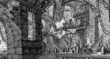 Cárceles imaginarias © Giovanni Battista Piranesi