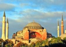 La mezquita de Hagia Sofía, en Estambul