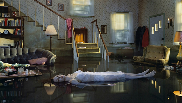 "Gregory Crewdson, ""Ophelia"", de la serie Twilight."
