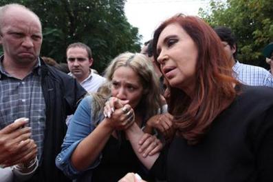 La generosa Cristina.