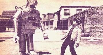 Escena de La nave de los monstruos (1959), de Rogelio A. González.