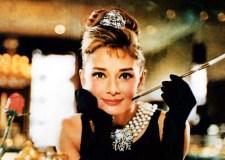 Audrey Hepburn en Breakfast at Tiffany's.
