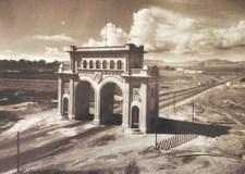 Los Arcos de Guadalajara en los años cincuenta.