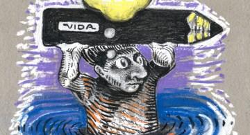 """""""Nadie lo vio desembarcar..."""". © Alejandro Cervera, """"Cebolla""""."""