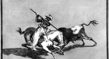 Otra estampa de Goya.