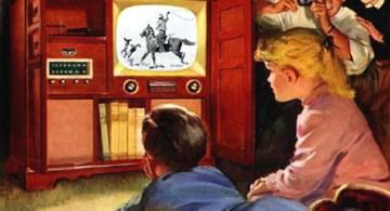 La televisión en los cincuenta.