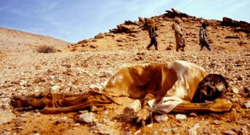Una víctima del genocidio en Darfur ordenado por Omar al-Bashir.