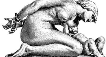 """Einar Wullum, """"Fangen muder"""" (Madre prisionera), 1901."""