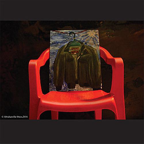 """Título: """" """"A la luz de un niño"""" Autor: Ramirez Martinez Jose Ignacio (Abraham De Ostos) Técnica: Fotografía y pintura País: México"""