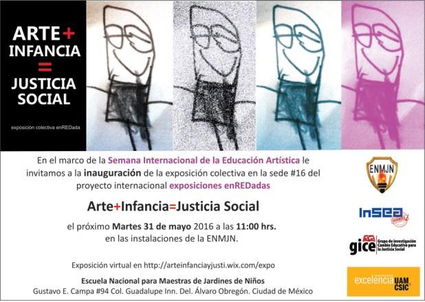 Se inaugura la exposición Arte+Infancia =Justicia Social