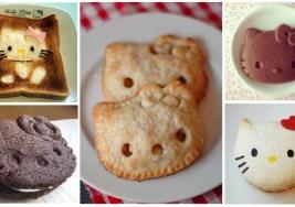 ¿Te Comerías estos Bocaditos con Forma de Hello Kitty?