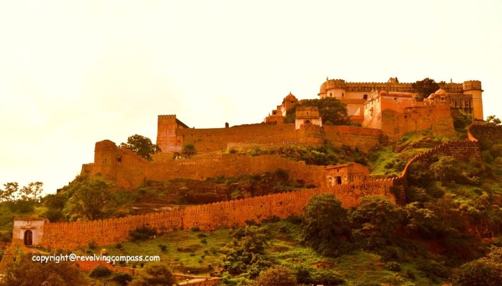 Kumbhalgarh fort & its walls : epitome of royal strength