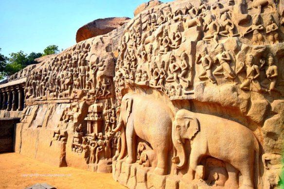 Arjuna's Penance : Things to do in Mahabalipuram