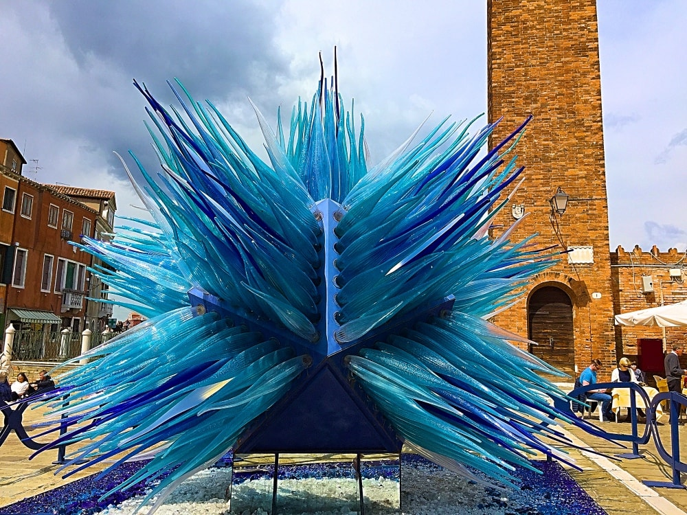 The glass world of Murano, Venice