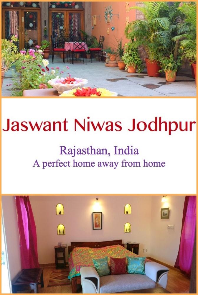 Jaswant Niwas Jodhpur Rajasthan | Homestay | India