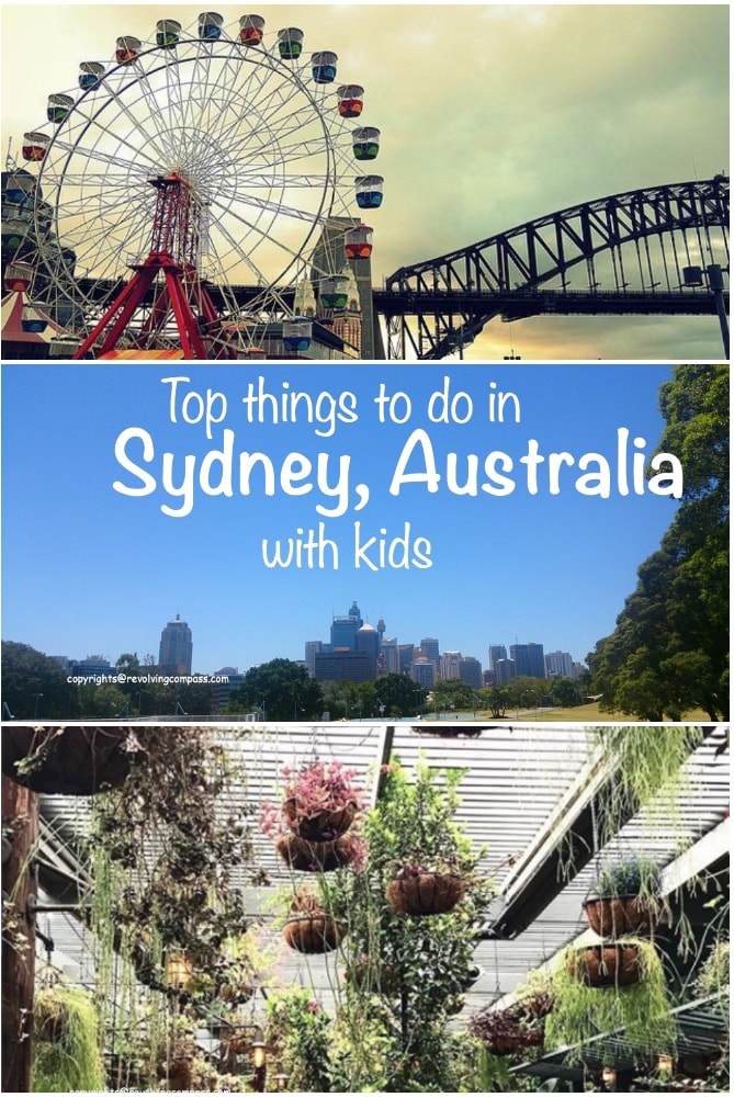 Top things to do with kids in Sydney Australia | Where to eat in Sydney with kids | What places to visit in Sydney with kids | What activities to do with kids in Sydney