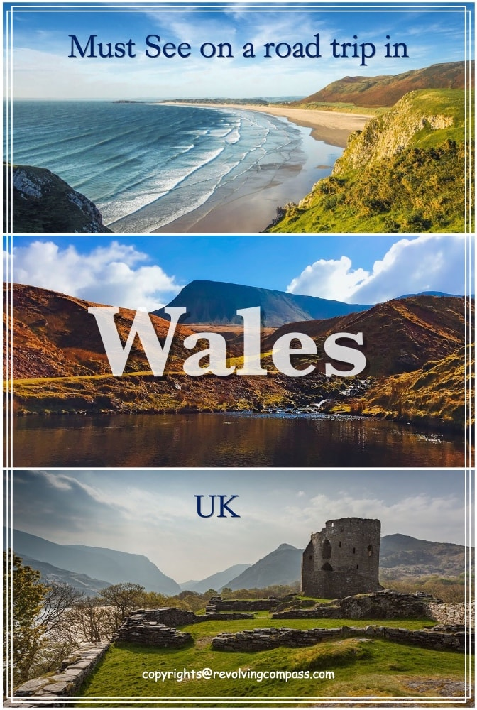 Must see places on a road trip in Wales | How to take a road trip across Wales, UK