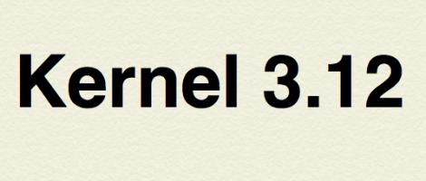 Kernel 3.12