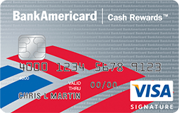 Bankamericard Cash Rewards Visa