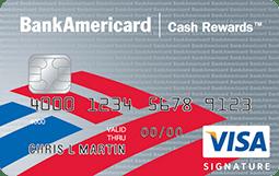 Bankamericard Cash Rewards Visa