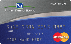 Fifth Third Platinum MasterCard