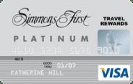 Simmons Rewards Platinum Visa