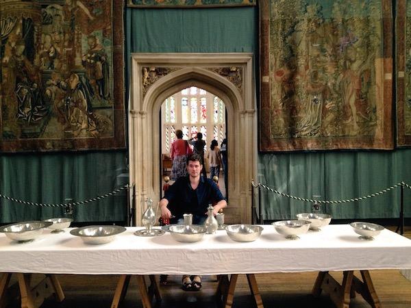 Meeting the Royals at Hampton Court Palace