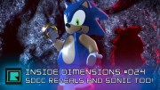 Inside Dimensions #024 – SDCC Reveals and Sonic too!