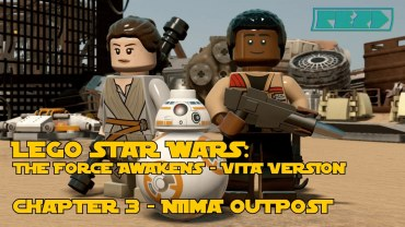 LEGO Star Wars the Force Awakens – PS VITA – Chapter 3 – Niima Outpost