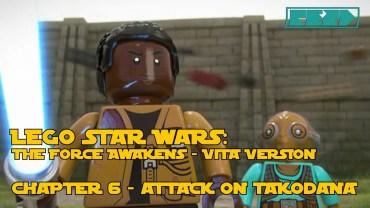 LEGO Star Wars the Force Awakens – PS VITA – Chapter 6 – Attack on Takodana