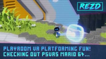 Playroom VR Robots Rescue – Platforming Fun!