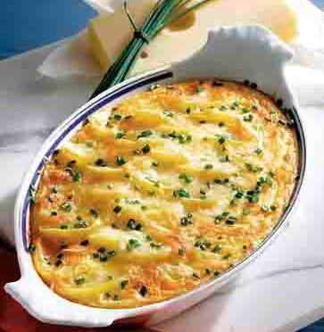 Allgäuer Kartoffelgratin (Hausmannskost)