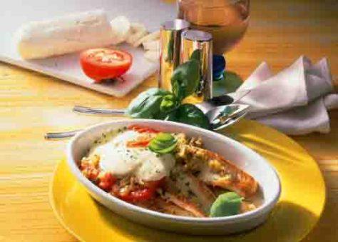 Seezunge mit Tomaten (für Diabetiker) Foto: Wirths PR